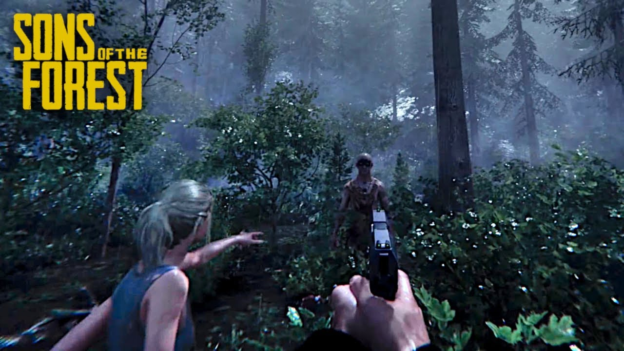Sons Of The Forest Gameplay Trailer 4K (The Forest 2) - YouTube