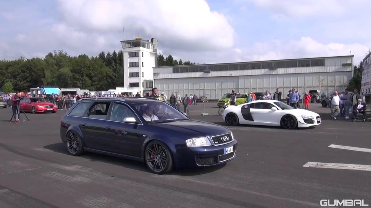 Audi RS6 Avant C5 4 2L V8 Biturbo Exhaust Sounds! - YouTube Audi Rs B on b5 audi a4 avant, b5 audi a8, b5 audi rs4, b5 audi s6, b5 audi a3,