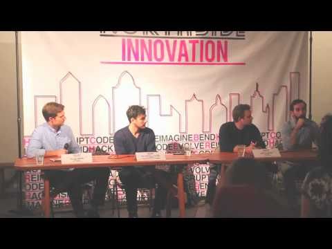 Panel Discussion at the fifth Northside Innovation Meetup