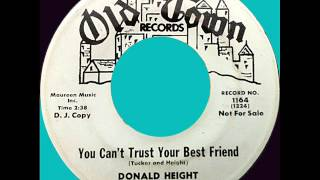 DONALD HEIGHT -- YOU CAN