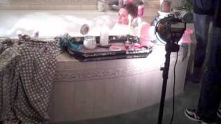 Coffey Buzz Behind the Scenes of the Mother's Day shoot!