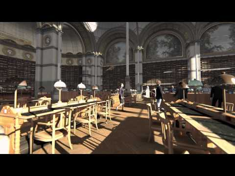 Labrouste Salle De Lecture BNF FullHD