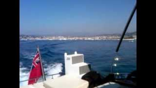 Cruising from Cannes to Antibe
