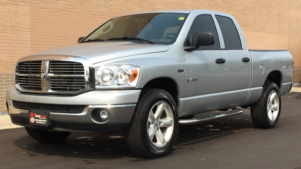 Dodge Ram Running Boards >> 2008 Dodge Ram 1500 SLT 4WD - Tow Pkg, Running Boards ...