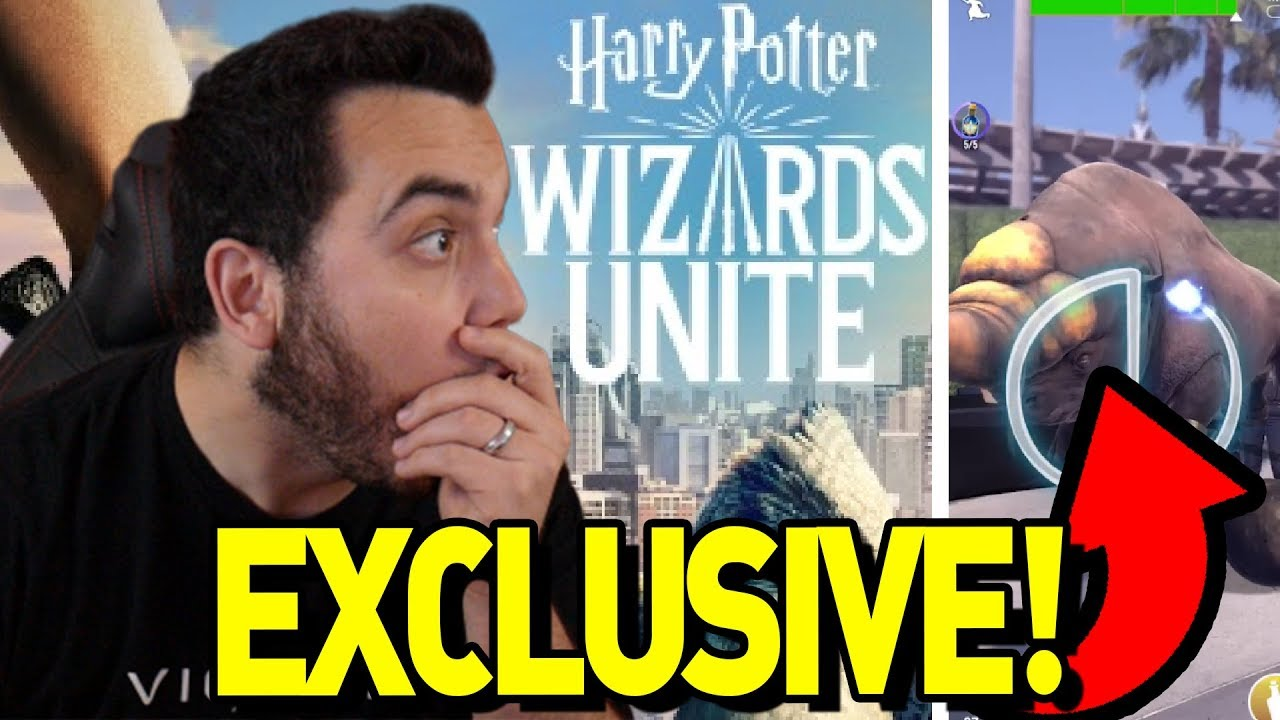 Harry Potter Wizards Unite Mobile Game Casts a Spell to Become 2019's Pokmon Go