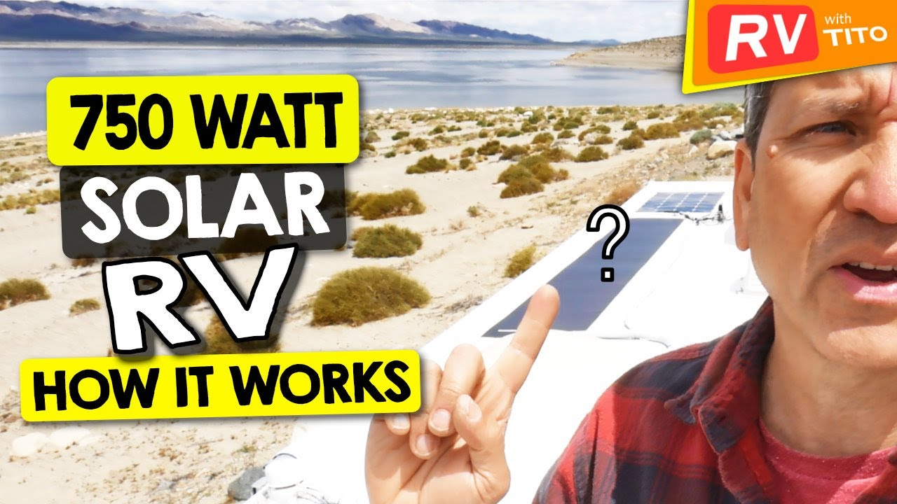 600 Watt DIY Solar System On Our RV - RV With Tito