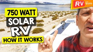HOW WE USE SOLAR for RV POWER OFF THE GRID - Full DIY System Tour