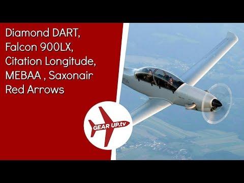 Diamond DART, Falcon 900LX, Citation Longitude, MEBAA , Saxonair Red Arrows