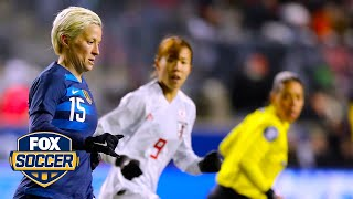 Aly Wagner: USWNT 'lets it slip away' in draw against Japan | 2019 SheBelieves Cup | FOX SOCCER