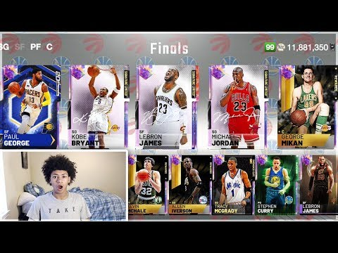 I Drafted 500 Times For The World S First 99 Overall Draft And 2k Gave Me This Nba 2k19 Myteam Youtube