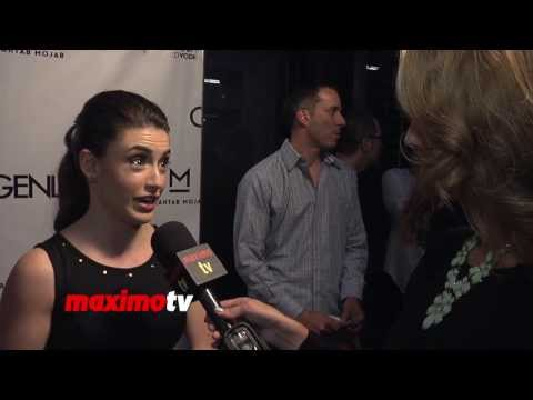 Daniela Bobadilla  Genlux Magazine Release Party with Cover Girl