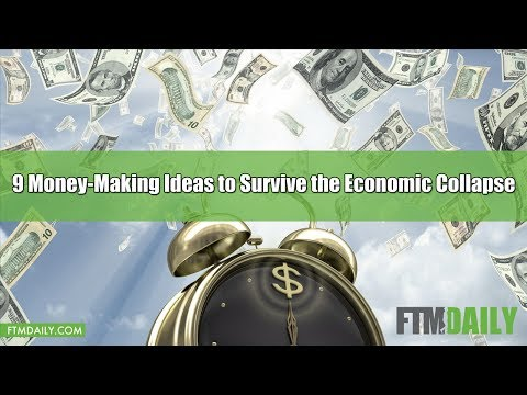 Here's 9 Money-Making Ideas to Survive the Economic Collapse