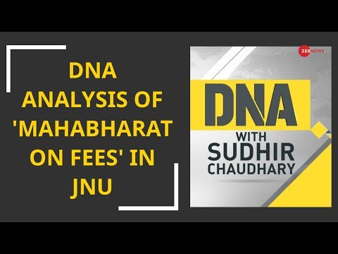 DNA analysis of 'Mahabharat on fees' in JNU