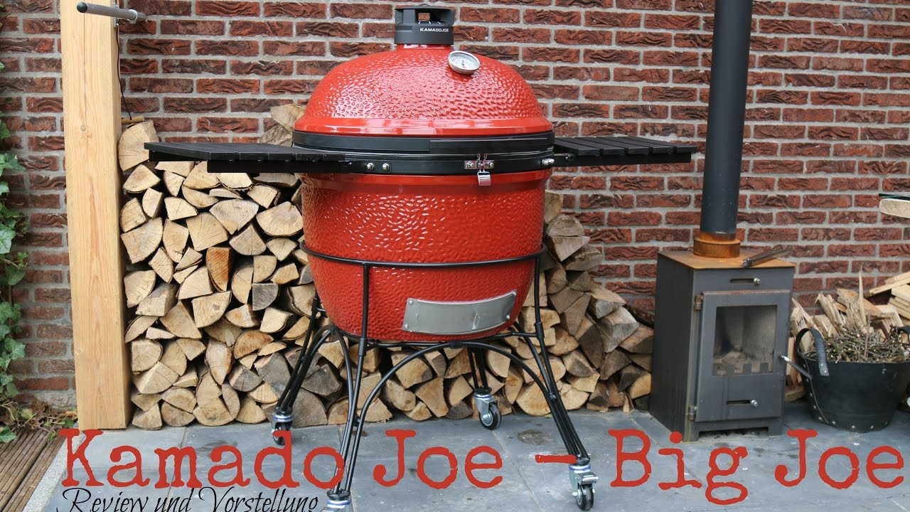 review kamado joe big joe xxl keramikgrill youtube. Black Bedroom Furniture Sets. Home Design Ideas