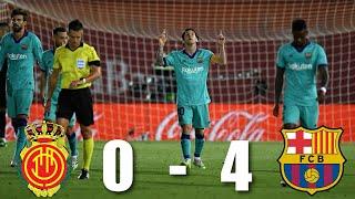 Rcd Mallorca Vs Barcelona 0-4 , La Liga 2020 - Match Review