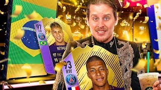 OMG POTY 97 NEYMAR + YPOTY MBAPPE! THE BEST LIGUE 1 SQUAD IN FIFA?! FIFA 18 ULTIMATE TEAM