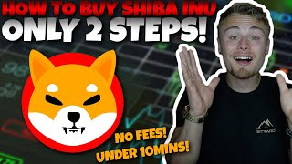 How To Buy SHÏBA INU Coin In The US With No Fees! (FASTEST WAY IN 2021!)