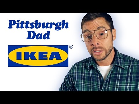 PITTSBURGH DAD AT IKEA