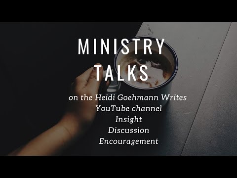 Ministry Talks Introduction