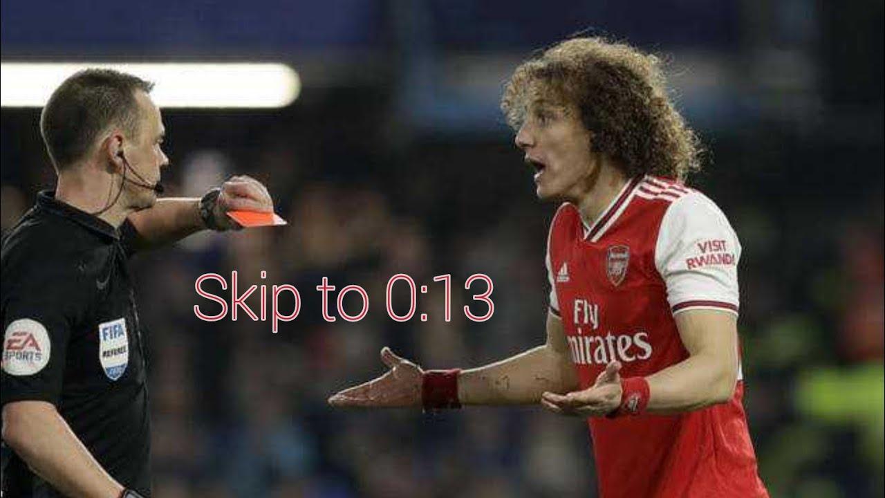 Jorginho penalty & David Luiz Red Card