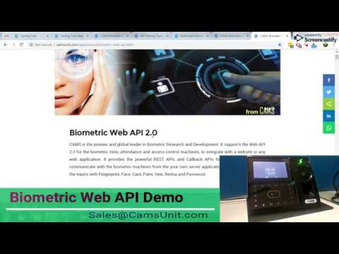 How To Integrate Biometric Attendance Device With Your Own Server - Demo With PHP Program