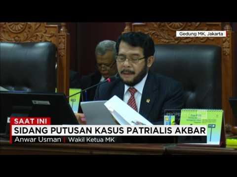 Sidang Putusan MK Terkait Kasus Patrialis Akbar