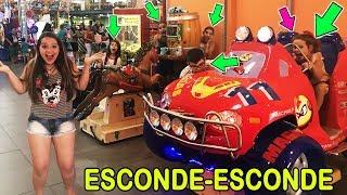 ESCONDE-ESCONDE NO PARQUINHO  FT. TURMA LELE MAGALI