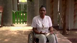 What's disability to me? Faustina's story.