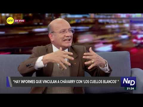 """Fernández Alarcón dijo que """"Los cuellos blancos del puerto"""" venden la justicia al """"mejor postor"""""""
