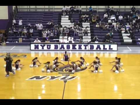 NYU Dance Team and Bobcat!