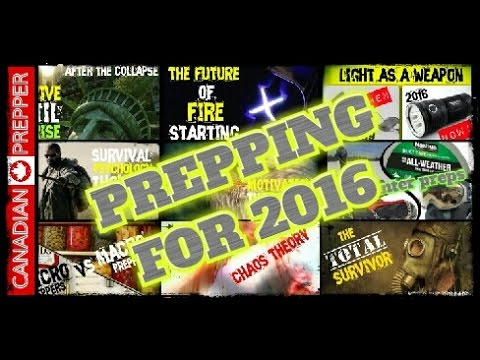 Prepping for 2016: Survive and Thrive in the New Year