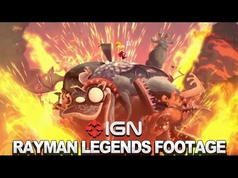 Rayman Legends: Castle Rock Footage
