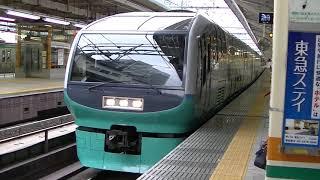 251系特急スーパービュー踊り子 東京駅発車