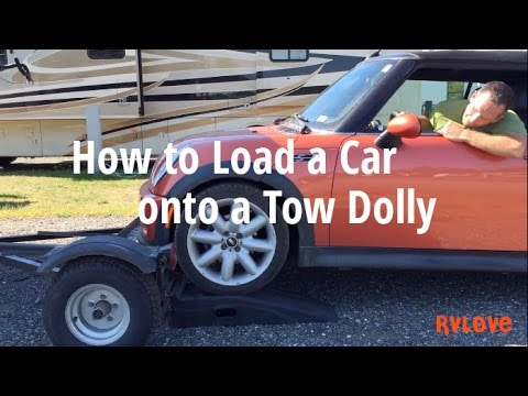 Car Tow Dolly >> How to Load a Car (TOAD) onto a Tow Dolly – Towing Option ...