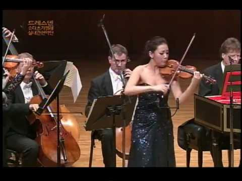 Clara-Jumi Kang - A. Vivaldi - The four seasons - Dresdner Kapellsolisten
