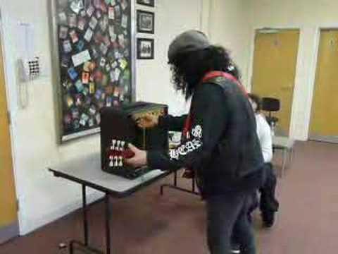 Slash visits Marshall