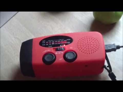 Review of A Solar Power Radio, Flashlight, Phone Charger