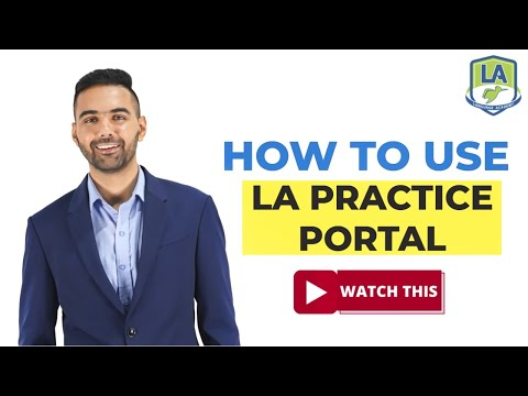 How to use Free LA PTE Practice Portal | Free Full Scored Mock Test | Language Academy