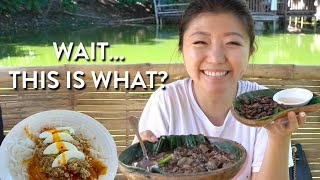 First time trying FILIPINO FOOD like THIS ?! Pampanga Philippines Food Tour