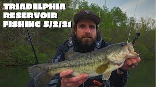 Triadelphia Reservoir Fishing 5 2 21
