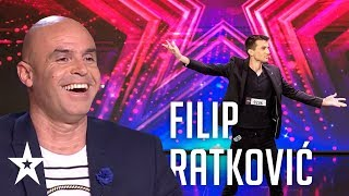 Filip Ratković is back stronger than ever│Supertalent 2019│Auditions