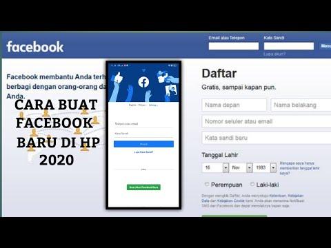 Daftar Facebook Cara Membuat Akun Facebook Baru 2021