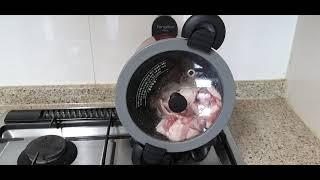 일요일 아침! 돼지고기 통돌이로 구워먹기..냄새 안나고…