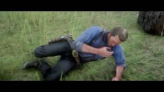 Red Dead Redemption 2 - Arthur gets drunk