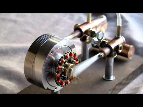Stirling engine type alpha