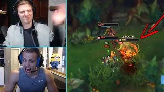 THE CLEANEST 1V2 BY SUPERTOP HASHINSHIN !   Tyler1 Explains The Ban System   LoL Stream Moments #120