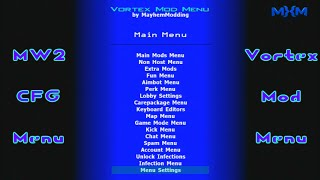 Mw2 CFG [Backup + Patch] Vortex Mod Menu