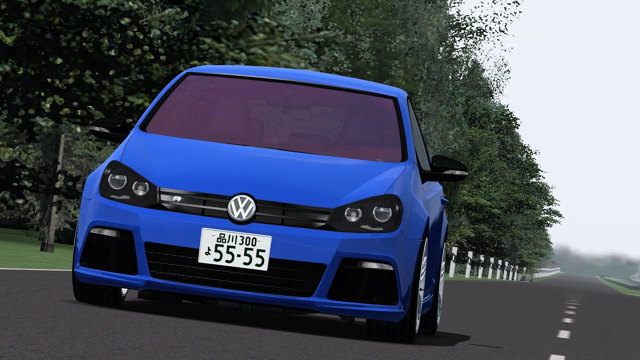 ism rfactor tuning tests 2 vw golf vi r hgp hd1080p youtube. Black Bedroom Furniture Sets. Home Design Ideas