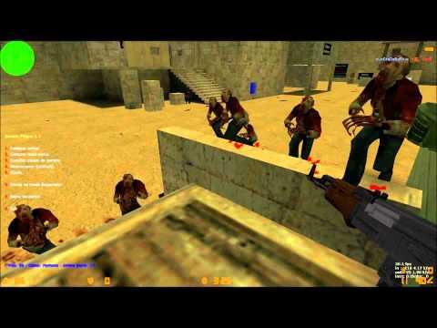 CS 1.6 Netter Zombie  Mod Mit Bots Und Laserminen