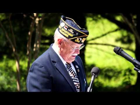 Memorial Day Ceremony 2015 - Bladensburg, MD.